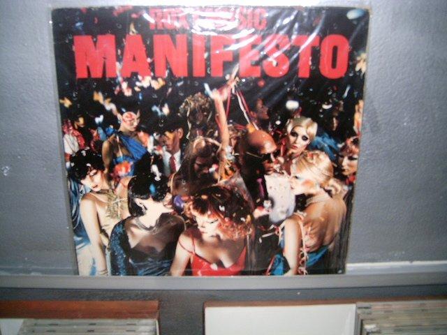 ROXY MUSIC manifesto LP 1979 IMPORTADO SEMI NOVO MUITO RARO