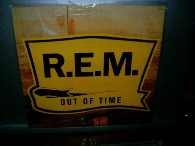 REM out of time LP 1991 ROCK EXCELENTE MUITO RARO VINIL