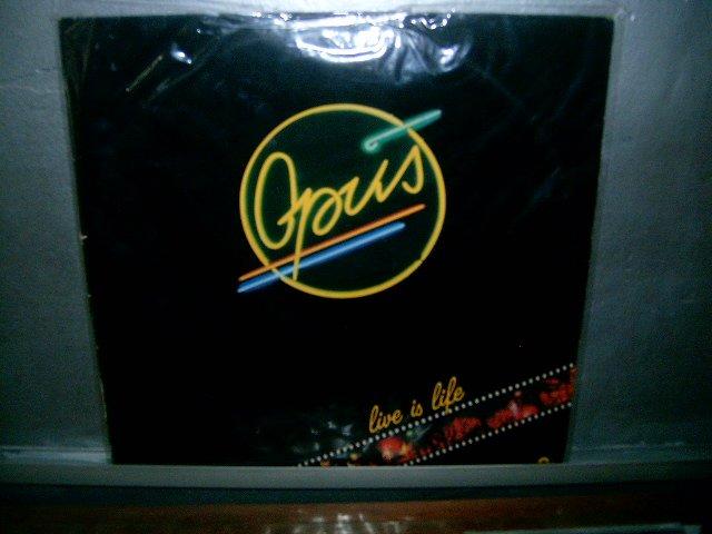 OPUS live is life LP 1985 ROCK*