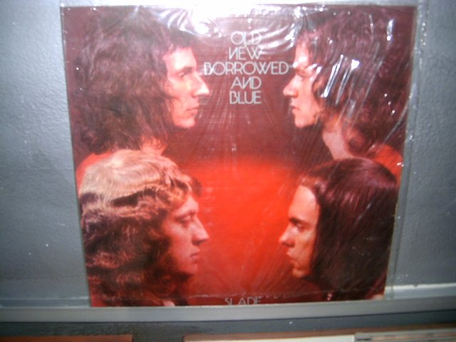 SLADE old,new,borrowed and blue LP 1974 GLAM ROCK**