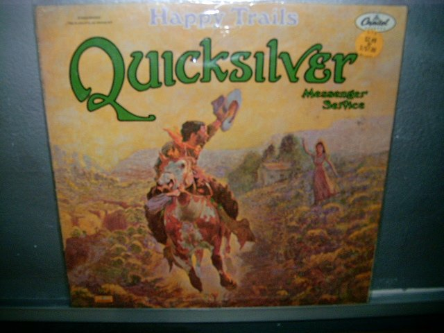 QUICKSILVER MESSENGER SERVICE Happy Trails LP 70S IMPORTADO ROCK MUITO RARO
