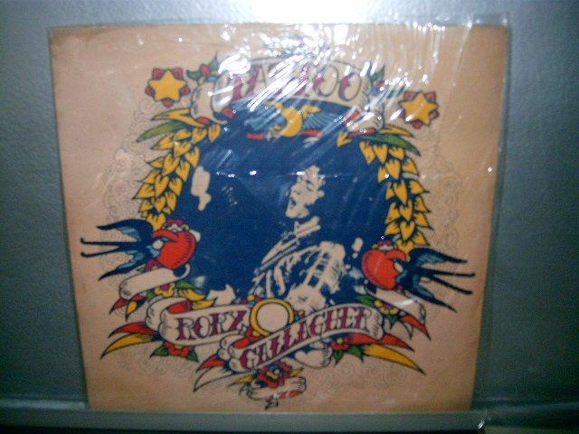 RORY GALLAGHER tatoo LP 1974 ROCK MUITO RARO VINIL
