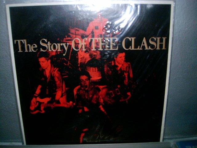 THE CLASH the history of the clash LP 1988 ROCK SEMI-NOVO MUITO RARO VINIL