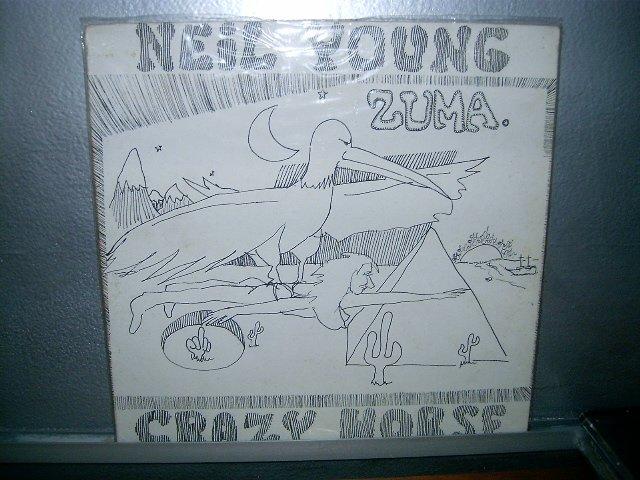 NEIL YOUNG zuma LP 1975 ROCK EXCELENTE MUITO RARO VINIL