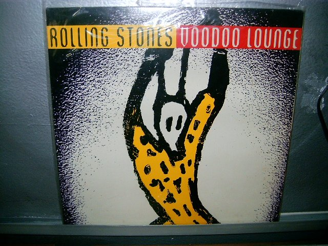 ROLLING STONES voodoo lounge LP 1994 ROCK EXCELENTE MUITO RARO VINIL