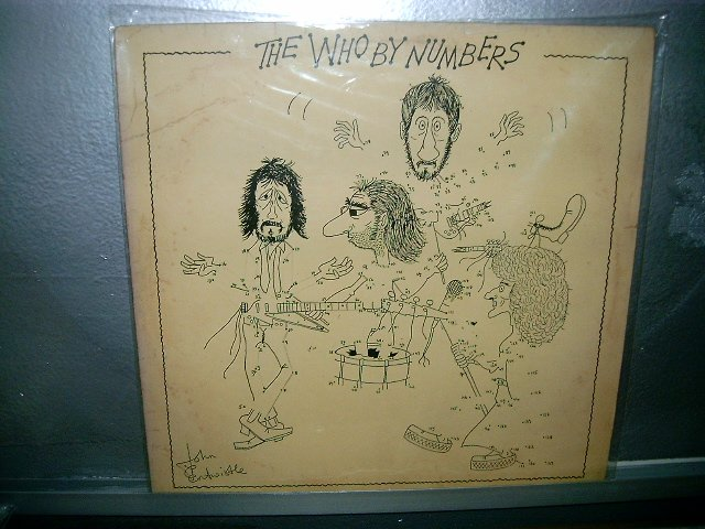 THE WHO the who by numbers LP 1975 ROCK EXCELENTE MUITO RARO VINIL