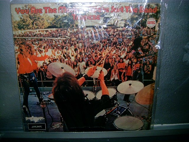 TRAPEZE you are the music..we're just the band LP 1972 ROCK MUITO RARO VINIL