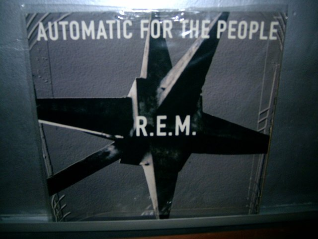 REM automatic for the people LP ROCK SEMI-NOVO MUITO RARO VINIL