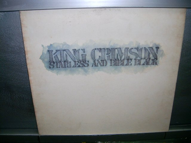 KING CRIMSON starless and bible black LP 1974 IMPORTADO SEMI-NOVO MUITO RARO