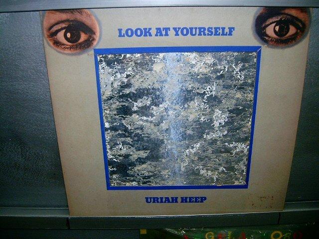 URIAH HEEP look at yourself 1972 IMPORTADO SEMI-NOVO  MUITO RARO