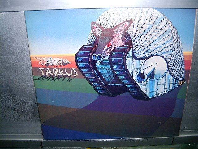 EMERSON,LAKE & PALMER tarkus LP 1971 IMPORTADO  SEMI-NOVO MUITO RARO