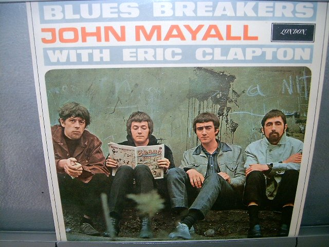 JOHN MAYALL WITH ERIC CLAPTON blues breakers  LP 1973 IMPORTADO SEMI-NOVO MUITO RARO