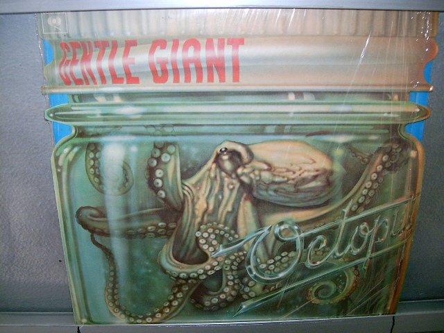 GENTLE GIANT octopus LP 1973 IMPORTADO SEMI-NOVO MUITO RARO