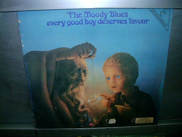 THE MOODY BLUES every good boy deserves favour 1972 IMPORTADO MUITO RARO