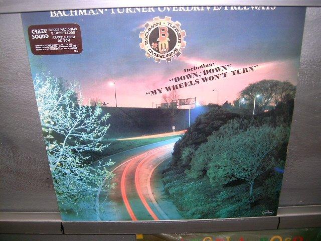 BACHMAN TURNER OVERDRIVE freeways LP 1977 ROCK  EXCELENTE MUITO RARO VINIL