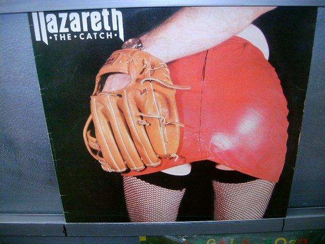 NAZARETH the catch LP 1984 ROCK**
