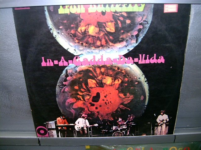 IRON BUTTERFLY in a gadda da vida LP 1974 ROCK MUITO RARO VINIL
