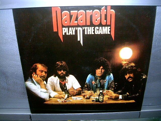 NAZARETH play 'n' the game LP 1977 ROCK EXCELENTE MUITO RARO VINIL