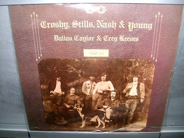 CROSBY,STILLS,NASH & YOUNG déjà vu LP 1977 ROCK SEMI-NOVO MUITO RARO VINIL