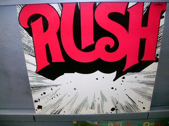 RUSH rush LP 1975 ROCK EXCELENTE MUITO RARO VINIL