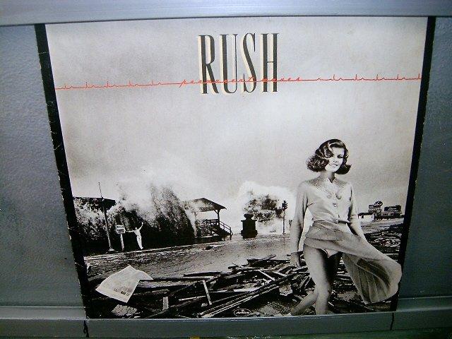 RUSH permanent waves LP 1980 ROCK EXCELENTE MUITO RARO VINIL