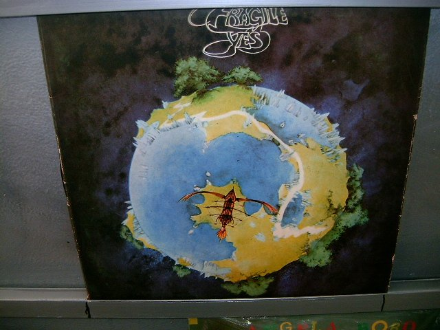YES fragile LP 1972 ROCK MUITO RARO VINIL