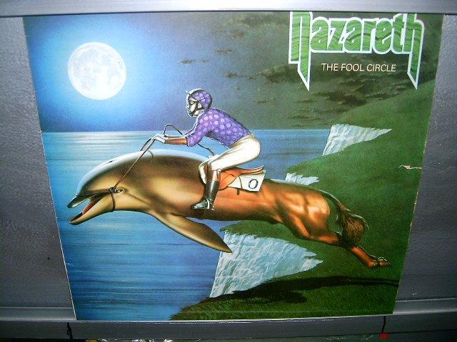 NAZARETH the fool circle LP 1981 ROCK EXCELENTE MUITO RARO VINIL