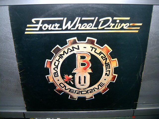 BACHMAN-TURNER OVERDRIVE four wheel drive LP 1975 ROCK MUITO RARO VINIL