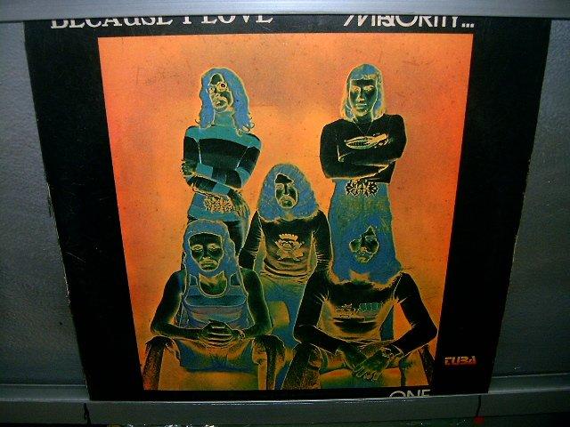 MAJORITY ONE Because I Love LP 1972 ROCK MUITO RARO VINIL