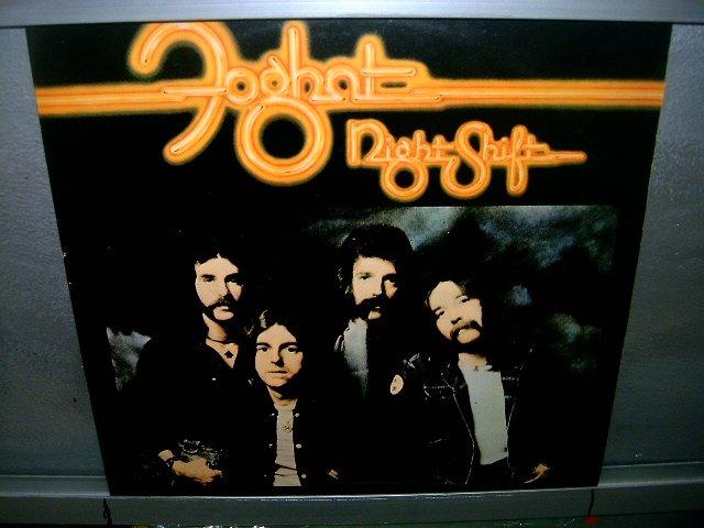 FOGHAT night shift LP 1977 ROCK EXCELENTE MUITO RARO VINIL