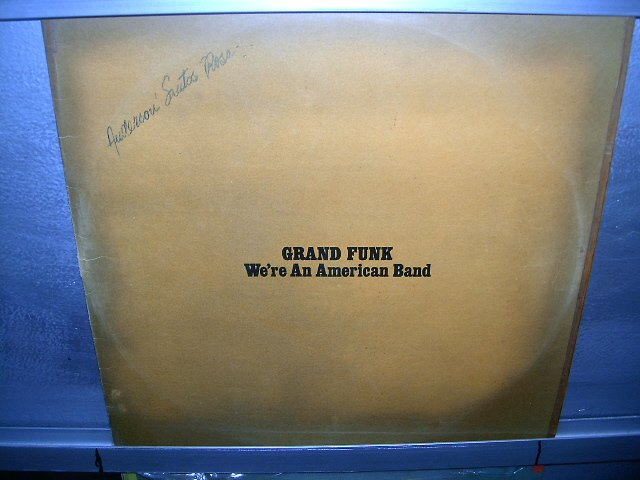 GRAND FUNK we're an american band LP 1973 ROCK EXCELENTE MUITO RARO VINIL