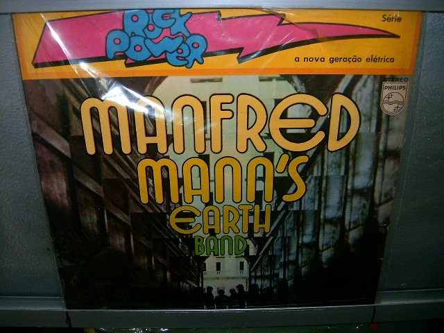 MANFRED MANN'S EARTH BAND manfred mann LP 1972 ROCK**