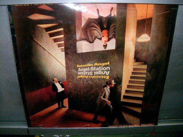 MANFRED MANN'S EARTH BAND estacion angel LP 1980 ROCK**