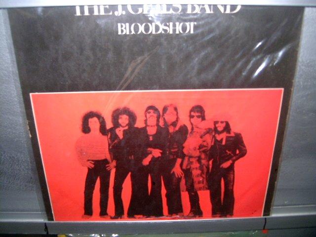 THE J. GEILS BAND bloodshot LP 1973 ROCK**