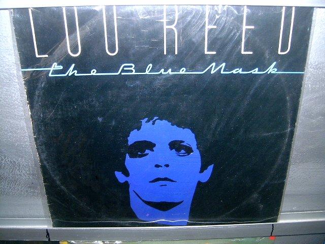 LOU REED the blue mask LP 1982 ROCK SEMI-NOVO MUITO RARO VINIL