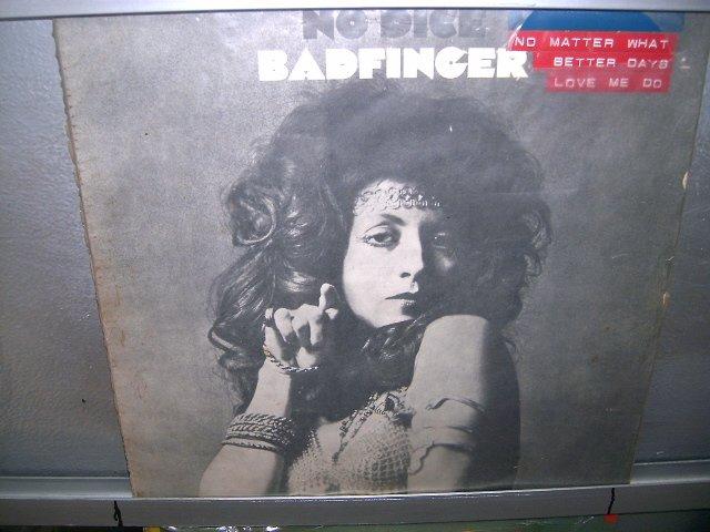 BADFINGER no dice LP 1971 ROCK MUITO RARO VINIL