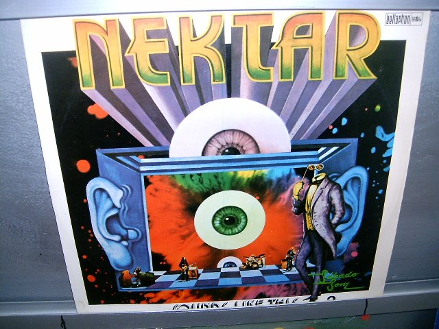 NEKTAR ...sounds like this LP 1975 ROCK EXCELENTE MUITO RARO VINIL