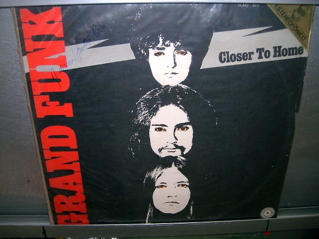 GRAND FUNK RAILROAD closer to home LP 1971 ROCK EXCELENTE MUITO RARO VINIL