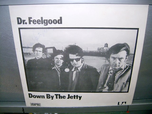 DR. FEELGOOD down by the jetty LP 1975 ROCK SEMI-NOVO MUITO RARO VINIL