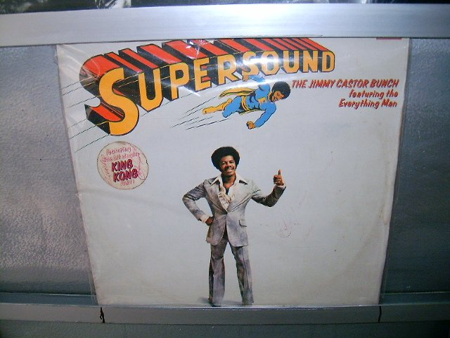 THE JIMMY CASTOR BUNCH supersound LP 1976 SOUL MUSIC MUITO RARO VINIL
