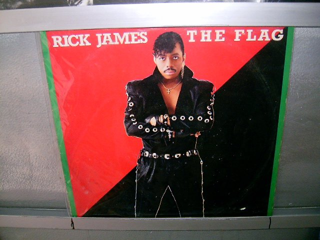 RICK JAMES the flag LP 1986 SEMI-NOVO SOUL MUSIC MUITO RARO