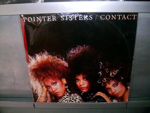 POINTER SISTERS contact LP 1985 BLACK MUSIC EXCELENTE MUITO RARO VINIL