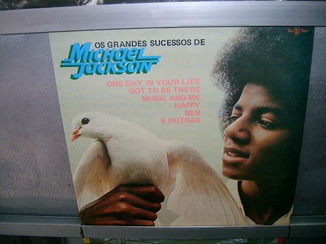 MICHAEL JACKSON os grandes sucessos LP 1975 BLACK MUSIC SEMI-NOVO MUITO RARO VINIL