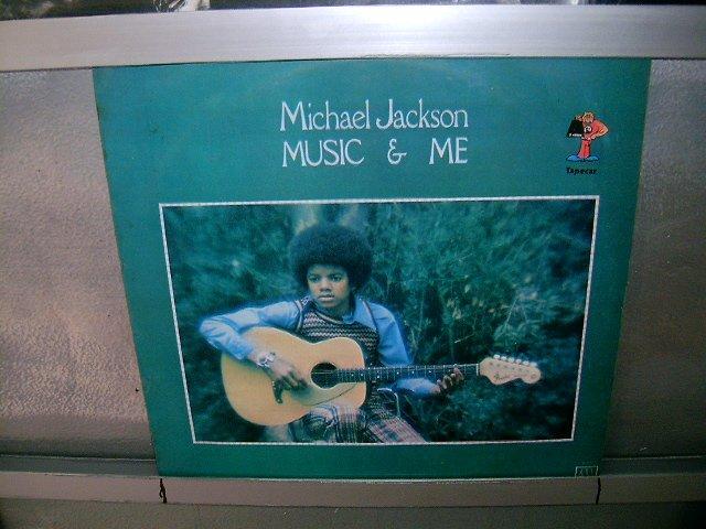 MICHAEL JACKSON music and me LP 1973 BLACK MUSIC MUITO RARO VINIL