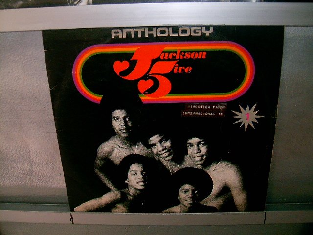 JACKSON FIVE anthology LP 1976 BLACK MUSIC EXCELENTE MUITO RARO VINIL
