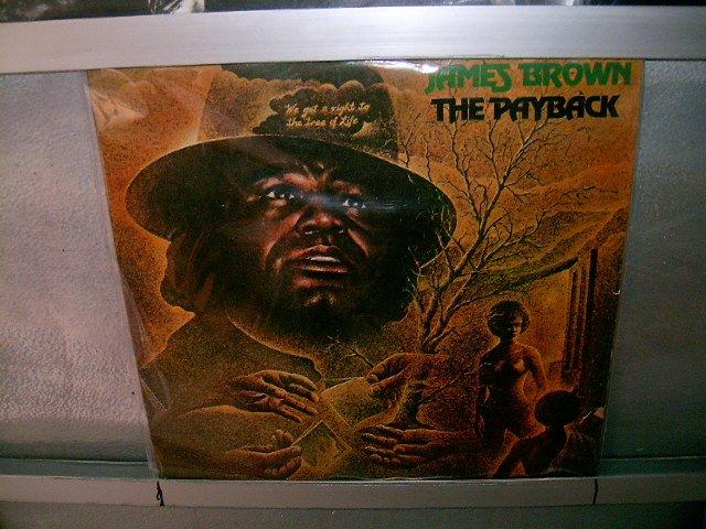 JAMES BROWN the payback 2LP 1974 DUPLO SOUL MUSIC EXCELENTE MUITO RARO VINIL