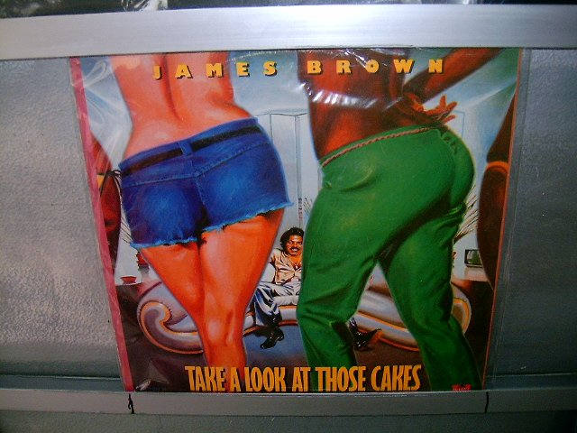 JAMES BROWN take a look at those cakes LP 1979 SOUL MUSIC EXCELENTE MUITO RARO VINIL