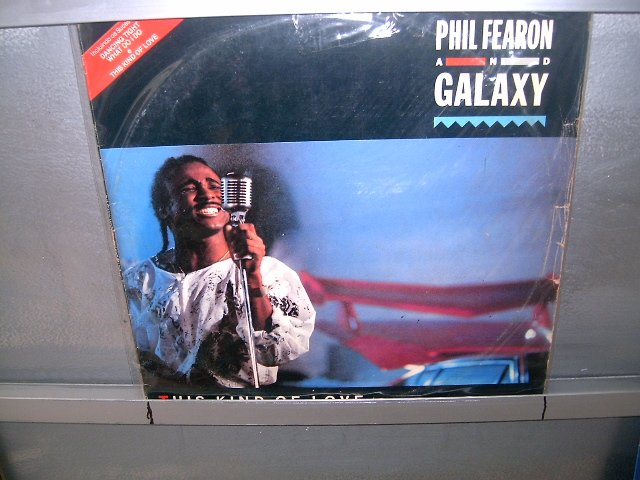 PHIL FEARON & GALAXY this kind of love LP 1985 SOUL MUSIC MUITO RARO VINIL