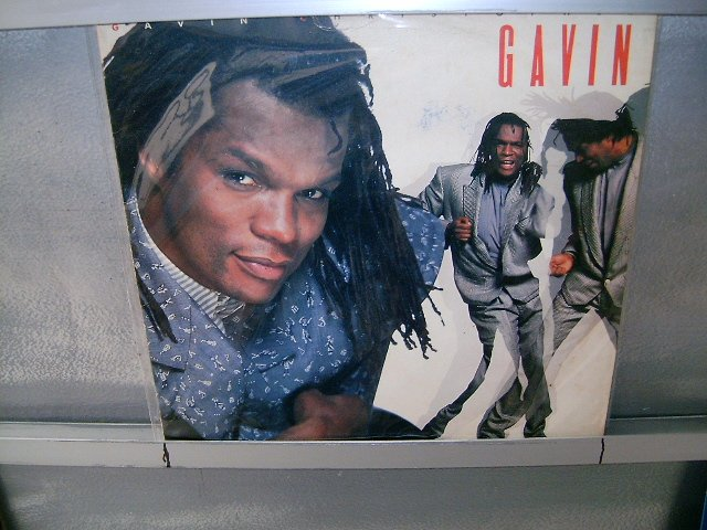 GAVIN CHIRSTOPHER gavin LP 1988 FUNK SOUL MUSIC SEMI-NOVO MUITO RARO VINIL