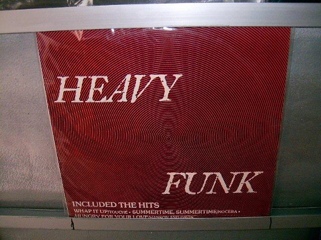 HEAVY FUNK heavy funk LP 1987 FUNK EXCELENTE MUITO RARO VINIL